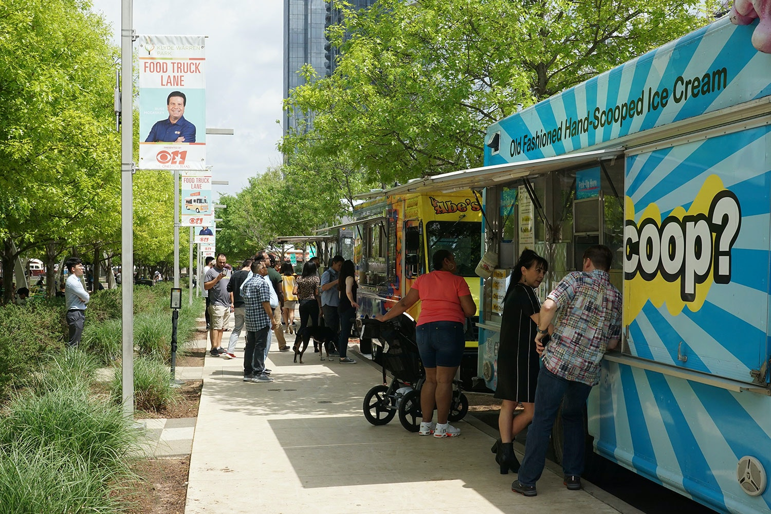 Image result for labor day food truck rally klyde warren park